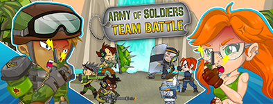 Play free game Army of soldiers : Team Battle