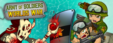 Play free game Army of Soldiers : Worlds War