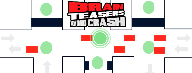 Play free game Brain Teasers : Avoid Crash