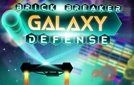 banner-Brick Breaker Galaxy Defense