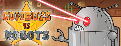 Play free game Cowboys vs Robots