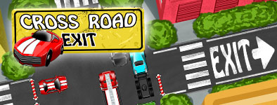 Play free game Cross Road Exit