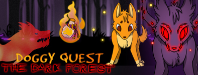 Play free game Doggy Quest : The Dark Forest