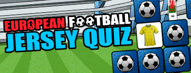 Play free game European Football Jersey Quiz