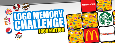 Play free game Logo Memory : Food Edition