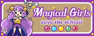 Play free game Magical girl : Save the school