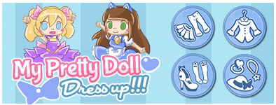Play free game My pretty doll : Dress up