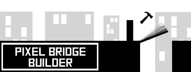 Play free game Pixel bridge builder