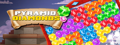 Play free game Pyramid Diamonds Challenge