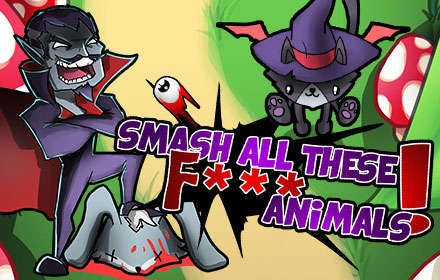 banner-Smash all these F... animals