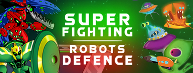 Play free game Super Fighting Robots Defense