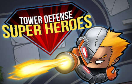 banner-Tower defense : Super heroes